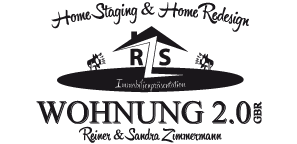 Wohnung 2.0 · Home Staging & Home Redesign · Immobilien · Aufwertung · Präsentation